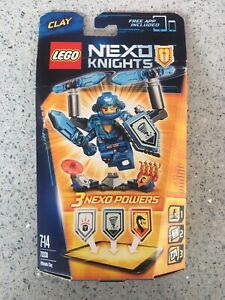 Lego Nexo Knights Clay (brand new)