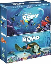 Finding Nemo & Finding Dory Blu-Ray Box Set Disney Pixar Brand New Free Shipping