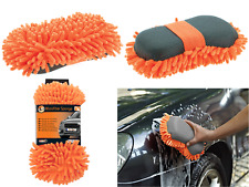 MR.KLEEN Car Care Luxury Microfiber Premium Sponge  Wiggly Noodle Wash Rasta