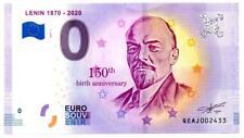 Billet Touristique - 0 Euro - Russie - Lenin (Anniversary 1870-2020) (2019-1)