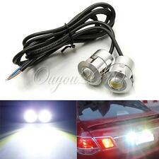2X 9W LED DRL Eagle Eye Car Fog Daytime Reverse Backup Parking Signal Lamp Light
