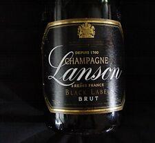 Champagner champagne Lanson Brut Black Label 2000 Original 1999