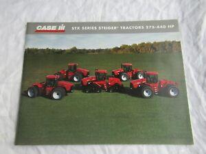Case CASEIH STX 275 325 375 440 STX series Steiger tractor brochure 36 pages