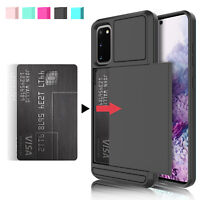 For Samsung Galaxy S20 Ultra S10 S10e Plus 5G Case Cover Wallet Card Holder Slot