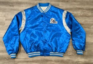 Vintage Detroit Lions Swingster made in USA satin jacket XXL