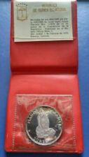 1970 EQUATORIAL GUINEA Proof 100 Pesetas Silver Coin in Original Pack- COA