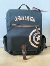 Captain America 3-Bottle Wine And Cheese Tote Backpack - Brand New