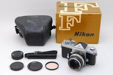 [Exc+++++ in Box] Nikon F Eye Level + Nikkor-H Auto 50mm F2 Lens From Japan #101