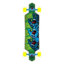 "Santa Cruz Longboard Complete Screaming Hand Stack Drop Through Green 9.0"" x 36"""