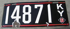 1913 13 KENTUCKY KY PORCELAIN LICENSE PLATE NICE TAG 14871 - HI QUALITY RARE
