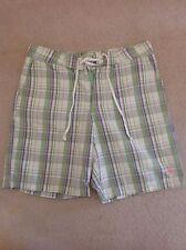 Men's Designer Jack Wills Checked Shorts Size S Excellent Condition Bargain