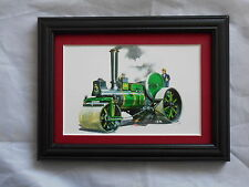 Traction Engine Stunning Framed & Mounted Postcard **Offers** #2