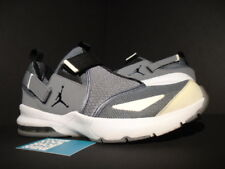 2011 Nike Air Jordan TRUNNER XI 11 LX COOL GREY BLACK WHITE SILVER 453843-002