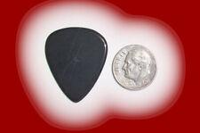 Australian Black Jade Traditional Stone Guitar Pick –1.6mm thick - # Td27523