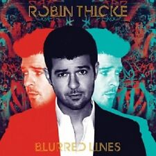ROBIN THICKE - BLURRED LINES  CD  10 TRACKS  INTERNATIONAL POP  NEU