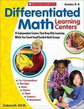 Differentiated Math Learning Centers: 35 Independent Centers That Keep Kids