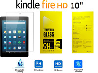 100% Genuine Tempered Glass Screen Protector For AMAZON KINDLE FIRE HD 10.1""