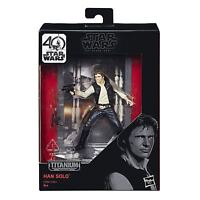 Star Wars Black Series Titanium Series Han Solo Toy Figure