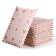 Pink Poly Bubble Mailers Custom Designer Shipping Envelopes Mailing Bags Self