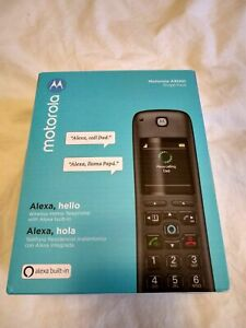 Motorola MOTO-AXH01 Alexa Integrated Cordless Phone - Brand New & Sealed