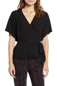 Chelsea28 Nordstrom Wrap Style Top SIZE L