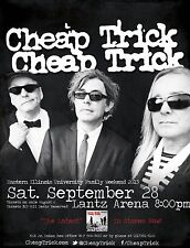 "Cheap Trick ""Family Weekend 2013"" Eastern Illinois University Concert Poster"