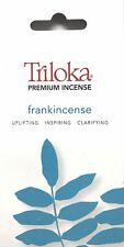 Frankincense - Triloka Premium Natural Aromatherapy Incense - 10 Sticks