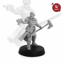 28mm wargaming and collectible miniature, Commissar Raivel - Heart of Darkness