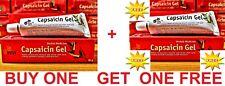 *BUY ONE 1 GET FREE!!*  Capsaicin Hot Herbal Gel Muscular Pain Relief Capsicum