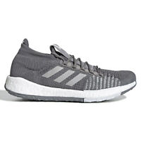 ADIDAS PULSEBOOST HD Mens Knit Running Shoes Boost - Gray - Size 8