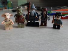5PCS MINIFIGURES lego MOC Dobby Harry Potter Orion Salazar Godric Helga Dumbledo