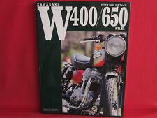 Kawasaki W400 / 650 files Data & Fan Book