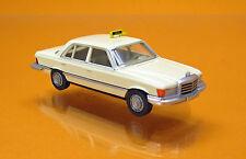 """Wiking 014924 Mercedes-Benz 300 SD ( W116 ) """" Taxi """" hellelfenbein"""