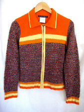 Custo Barcelona Zip Front Cardigan Sweater Size M