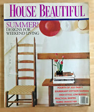 House Beautiful Magazine 1991 Byron Bell Robert Currie Vicente Wolf Hilton Head