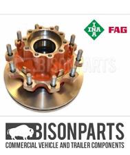 """FITS DAF CF85 (2001-2013) REAR AXLE HUB, BRAKE DISC,STUDS & OEM FAG BEARINGS"