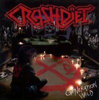 Generation Wild CD Crashd‹iet Crazzy Lixx Steel Panther Motley Crue Kiss Poison