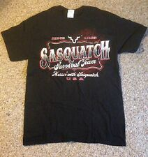 Jack Link's Beef Jerky Adult Medium TShirt Messin' with Sasquatch Survival Team