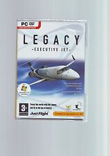 LEGACY : EXECUTIVE JET - MS FLIGHT SIMULATOR  FS X FSX or FS2004 EXPANSION - NEW