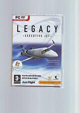 LEGACY : EXECUTIVE JET - MS FLIGHT SIMULATOR  FS X FSX or FS2004 EXPANSION - NEW