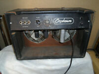 Vintage Orpheum Twin combo Tube Guitar amp Amplifier