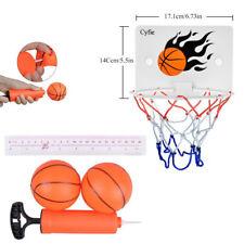 Portable Mini Hoop Backboard Net Set with Basketball Indoor Outdoor Game Toy
