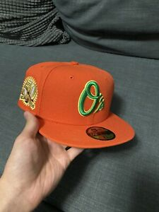 Myfitteds Baltimore Orioles Spaghetti O's Fitted Size 7 5/8. Not Hat Club