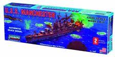 USS Manchester Light Cruiser Building Kit 1:600