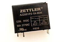 AZ2501P2-1A-9DR ZETTLER 50AMP Latching Power Relay 9VDC coil SPST-NO  # 708519