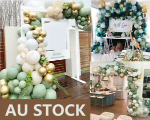 Balloon Arch Garland Set Macaron Latex Balloon Baby Shower Wedding Decor AU
