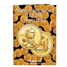 H E HARRIS #3162 Coin Folder Native American Dollar - Starting 2009