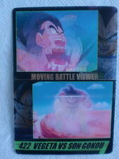 JAPAN DRAGONBALL x MORINAGA Sushuu 3D Card VEGETA vs SON GOKU DXMV-41-422