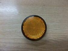 Yamaha RD400 1976/77 Amber Orange Rear Reflector x 2 QO001