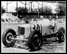 Indy 500 Winner Fred Frame Photo 8X10 Indianapolis 1932 Race Speedway